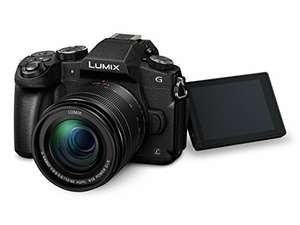 Appareil photo hybride à objectif interchangeable Panasonic Lumix DMC-G80 (16 MPix, 4K) + Objectif G Vario 12-60 mm f/3.5-5.6 ASPH Power OIS