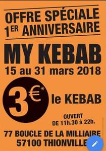 Kebab - MyKebab Thionville (57)