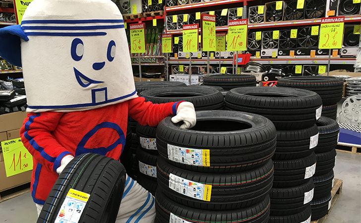 Arrivage de pneus Dunlop en promotion chez Carter-cash - Ex 195/65R15 91H
