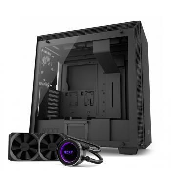 Boitier PC Gamer NZXT H700I - Noir + Kit de Watercooling NZXT Kraken X52