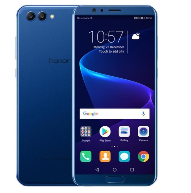"Smartphone 5.99"" Honor V10 Bleu - 2K, Kirin 970, RAM 4Go, 64Go, Android 8.0 + 95€ en Super Points"