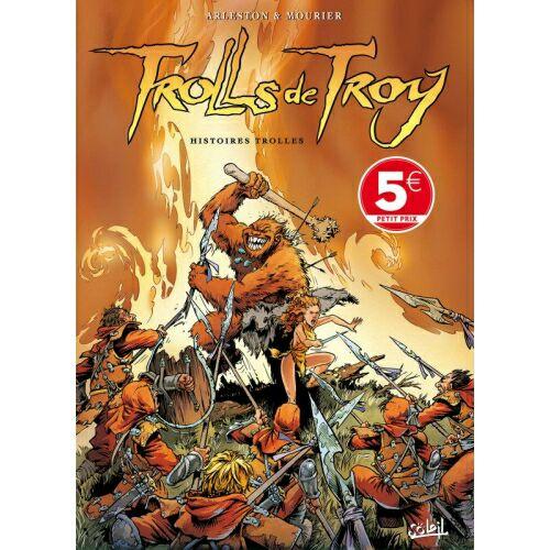 Sélection de Mangas, Comics et Bandes Dessinées en Promotion - Ex: Trolls de Troy Tome 1