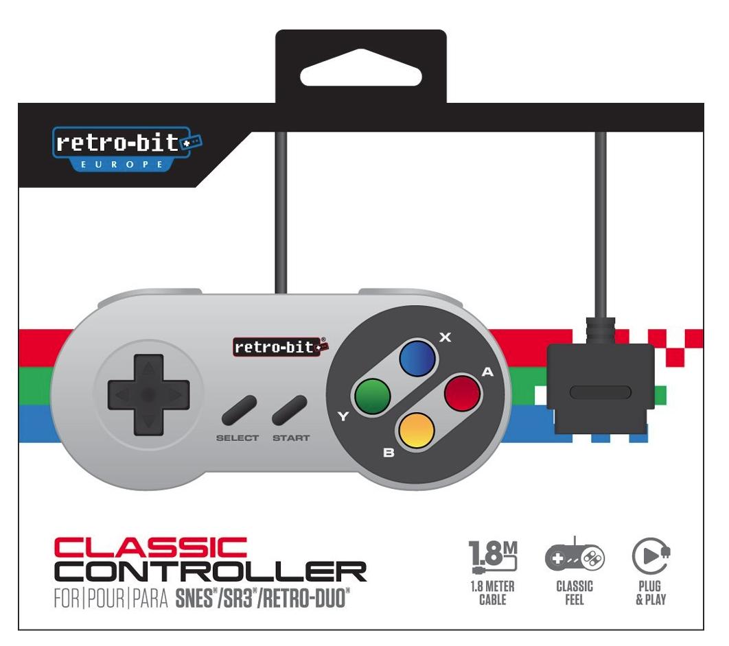 Manette Retro-Bit SNES Classic