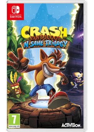 Précommande : Crash N.Sane Trilogy sur Nintendo Switch ou Xbox One