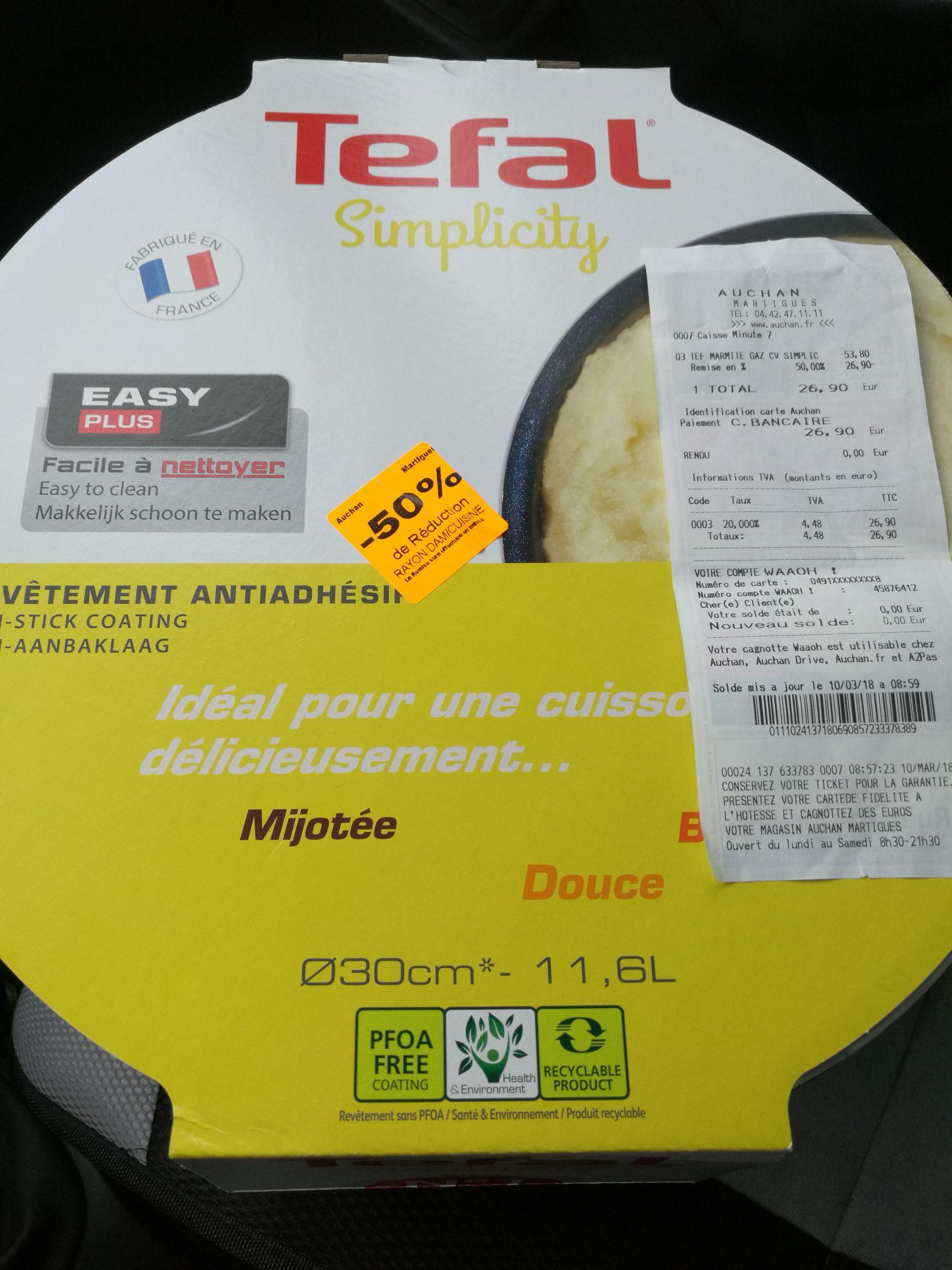 Marmite Tefal avec couvercle - Martigues (13)