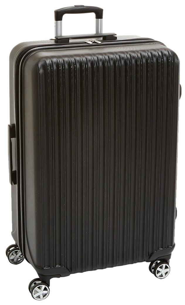 Valise rigide à roulettes pivotantes AmazonBasics  - 78cm, 106L