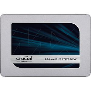 """SSD interne 2.5"""" Crucial MX500 (3D-TLC) - 500Go"""