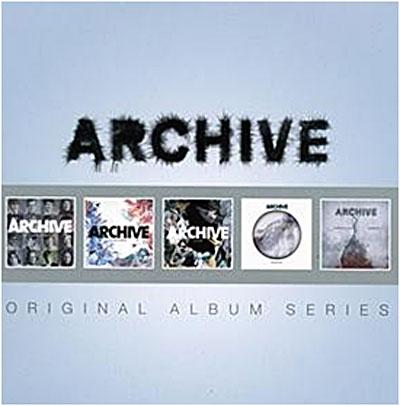 Coffret 5 albums du groupe Archive