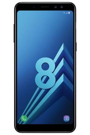 "Smartphone 5.6"" Samsung Galaxy A8 (2018) - Full HD+, Double SIM, RAM 4 Go, ROM 32 Go (via reprise de votre ancien téléphone + ODR de 70€)"