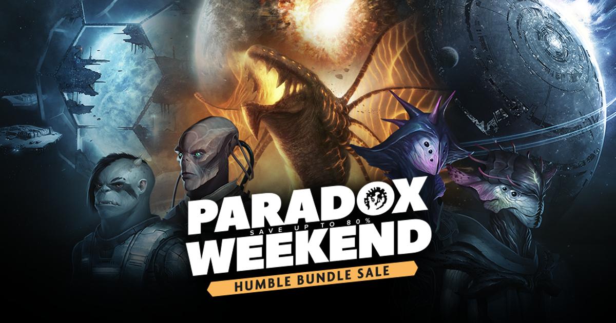 Sélection de jeux Paradox en promotion