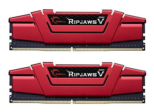 Lot de 2 barrettes de RAM G.Skill Ripjaws V (2*4Go) - DDR4, 2133MHz, CAS 15
