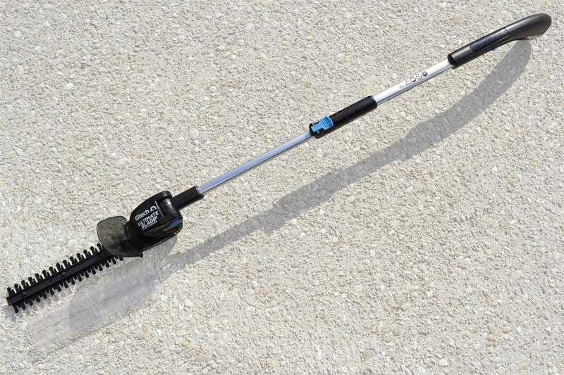 Taille-haie 14.4V sans fil avec manche télescopique - GTech