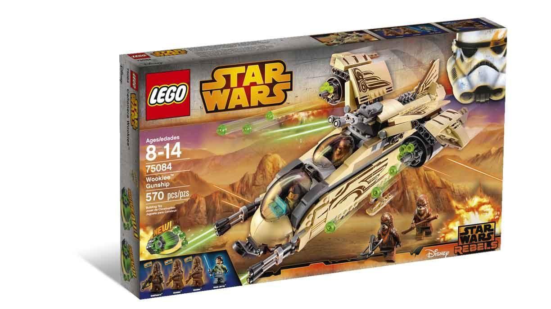 Lego Star Wars Wookie Gunship