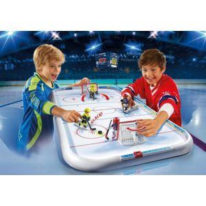 Set Playmobil 5594: Stade de hockey sur glace