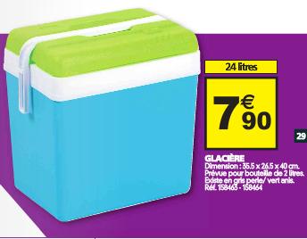 Glacière 24 litres -