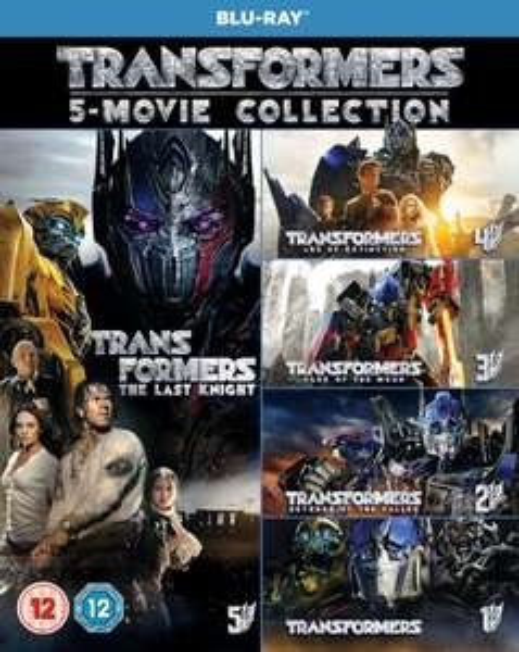 Coffret Transformers: 5-Movie Collection (Blu-Ray + Bonus Disc )