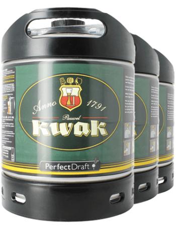 Lot de 3 fûts de 6L de bière Kwak (consigne inclue) - Fretin (59)