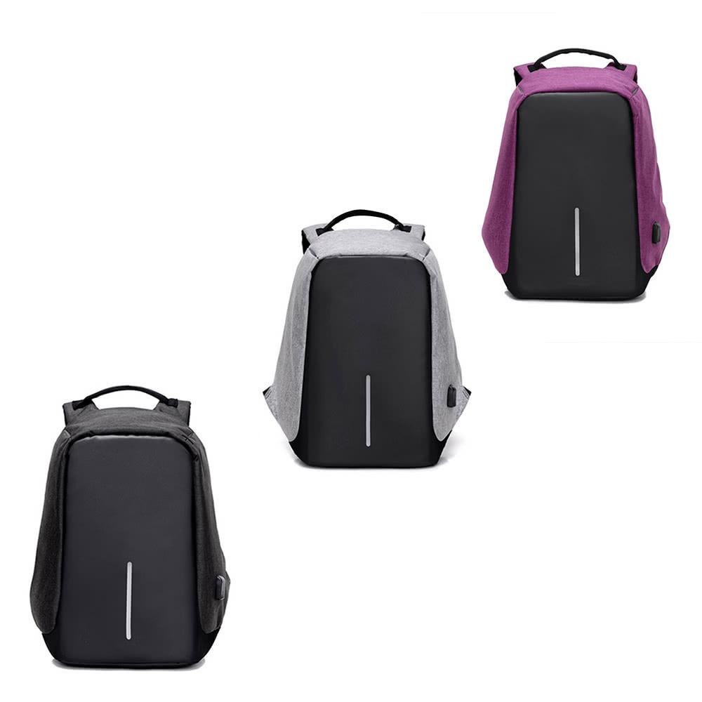 sac dos multifonction avec c ble usb plusieurs coloris. Black Bedroom Furniture Sets. Home Design Ideas