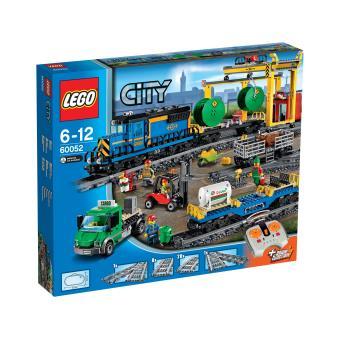 Jeu de construction Lego City 60052 - Le train de marchandises