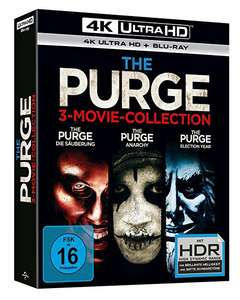 Coffret Blu-Ray The Purge - La Trilogie - 4K Ultra HD