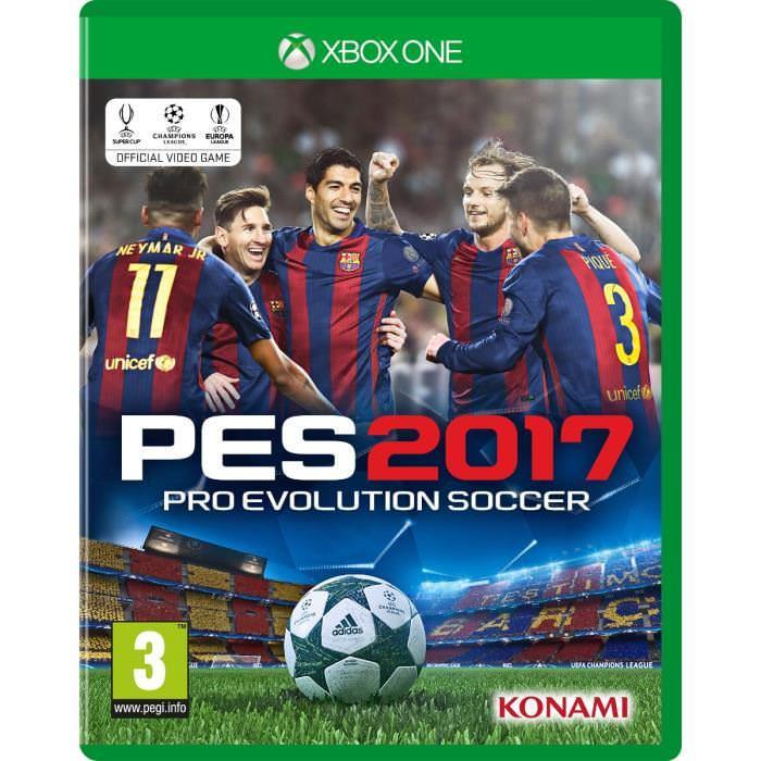 Pro Evolution Soccer 2017 sur Xbox One (via l'Application)