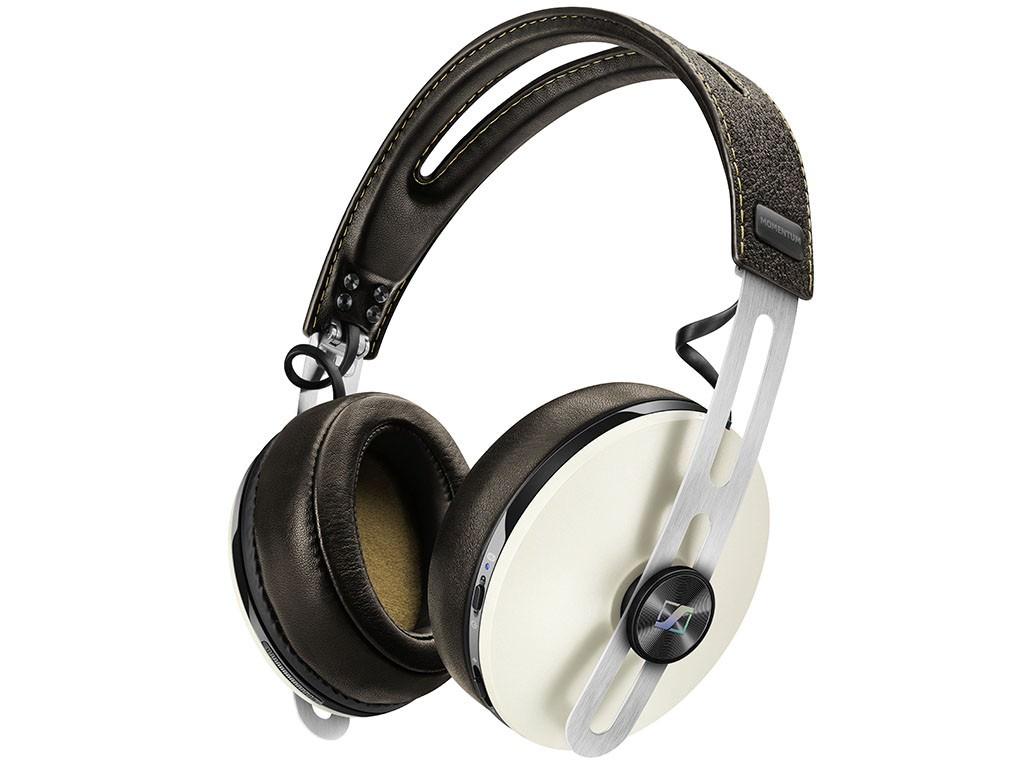 Casque audio sans-fil Sennheiser Momentum Over-ear Wireless avec Réduction de bruit active - Ivoire