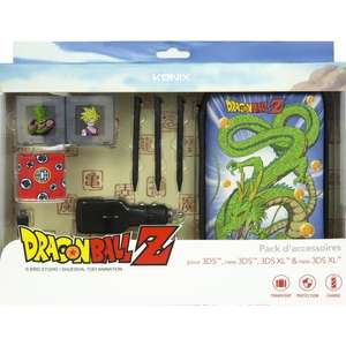 Pack d'accessoires Konix DragonBall Z pour Nintendo 3DS