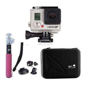 Pack Caméra GoPro Hero 3+ Black Edition
