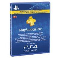 Abonnement Playstation Plus - 12 Mois (Frontaliers Suisse)