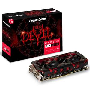 Carte Graphique Radeon RX 580 Red Devil 8192MB GDDR5 (overclockers.co.uk)