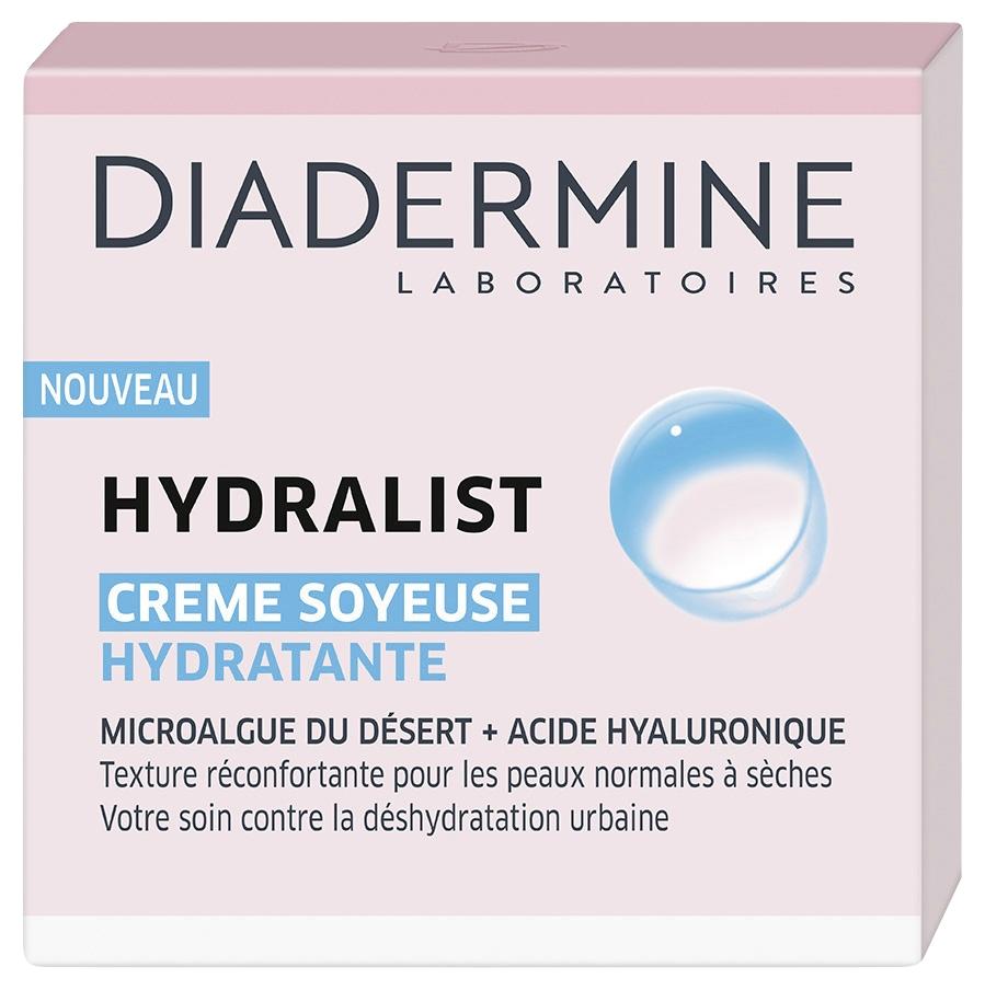 Crème hydratante soyeuse Diadermine Hydralist - 50ml (Via Shopmium + BDR)