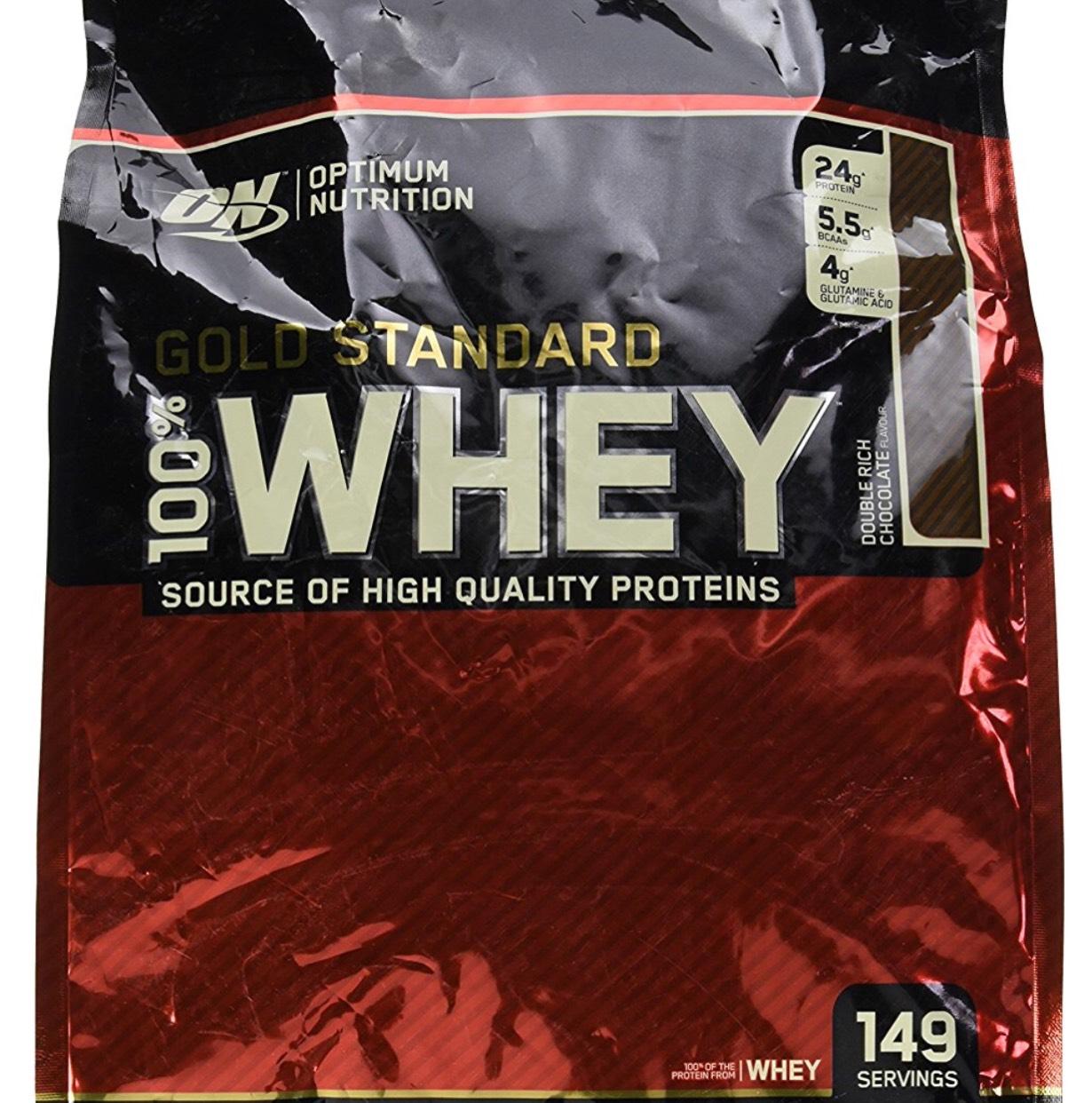Sachet de protéine en poudre 100% Whey Gold Standard - 4.54 Kg