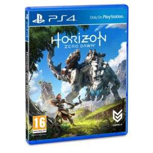 Horizon Zero Dawn sur PS4
