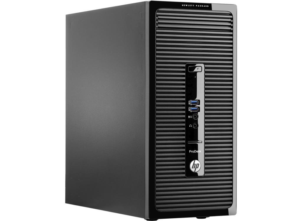 PC Professionnel HP ProDesk 400 G2 (Pentium G3240 3,1 GHz, 4 Go DDR3, Windows 7 Pro 64 bits + 8.1 Pro 64bits)