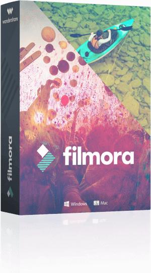 Logiciel d'édition de vidéo Filmora + Pack d'effets spéciaux Block Buster