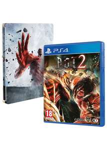 Attack on Titan 2 sur PS4 + Steelbook