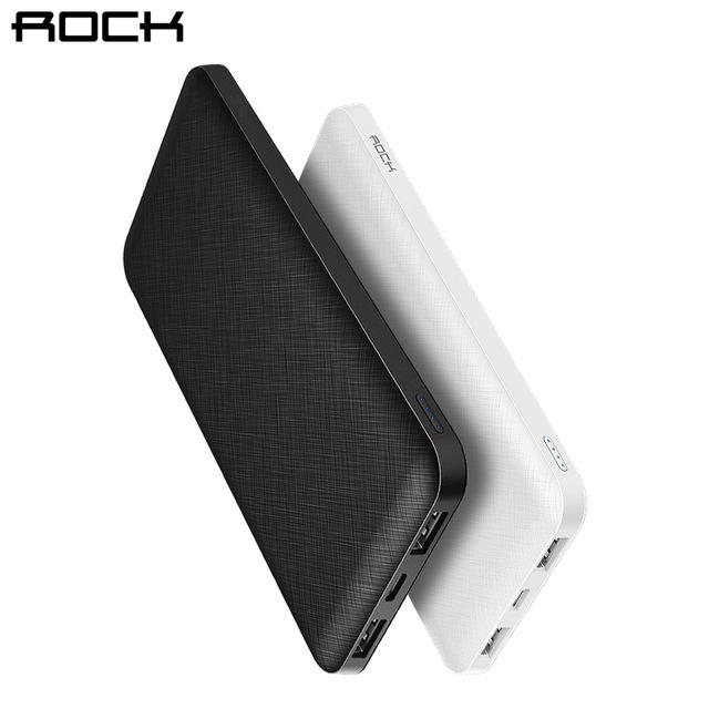 Batterie Externe Rock Slim Powerbank (Coloris au choix) - 10000mAh (8.86€ via Applications Mobiles)