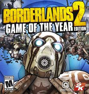 Borderlands 2 Game of the Year Edition sur PC(Dématérialisé - Steam)