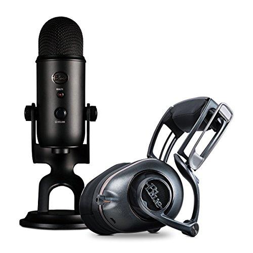 Pack Casque Audio Blue Mo-Fi + Microphone Blue Yeti Blackout