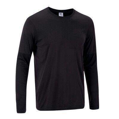 T-shirt Tennis Thermic Artengo - Manches Longues, Noir