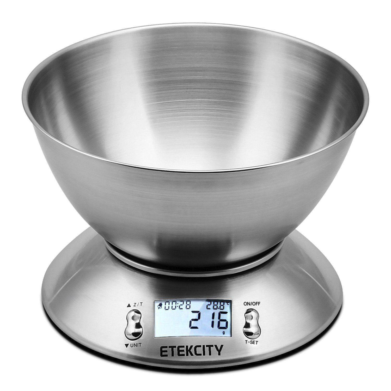 Balance de cuisine Etekcity  avec bol amovible - (vendeur tiers)
