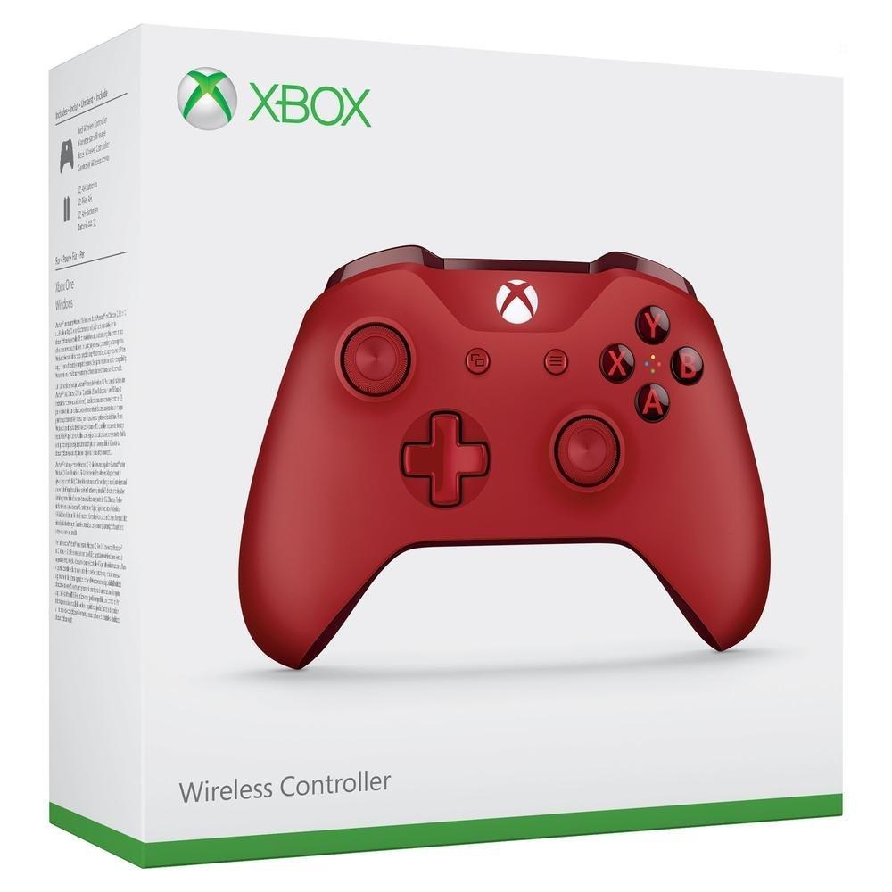 Manette Xbox One sans fil Rouge + Destiny 2 sur Xbox One