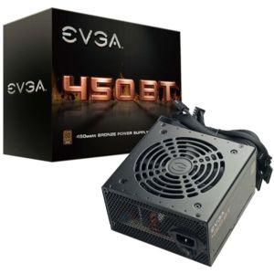 Alimentation non modulaire PC EVGA 450 BT - 450W, 80+ Bronze