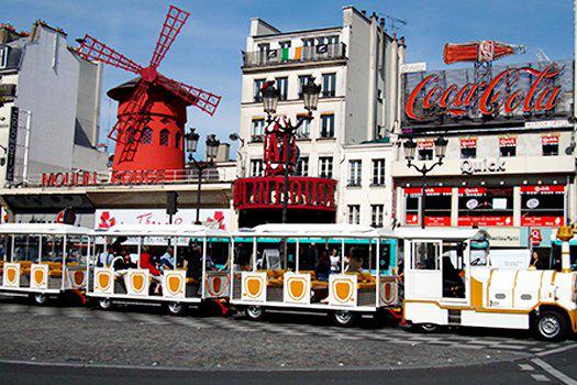 2 Billets pour le petit train de Montmartre à Paris