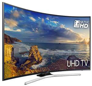 "TV 55"" Samsung UE55MU6220 - LED, 4K UHD, HDR, Incurvée, Smart TV"