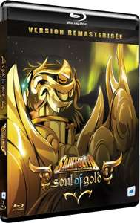 Blu-ray Saint Seiya : Soul of Gold - Version Remastérisée Collector