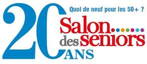 Invitation gratuite au Salon des séniors, du 05 au 08 avril 2018, porte de Versailles Paris (75)