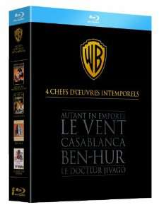 Coffret Blu-Ray 4 chefs-d'oeuvre intemporels