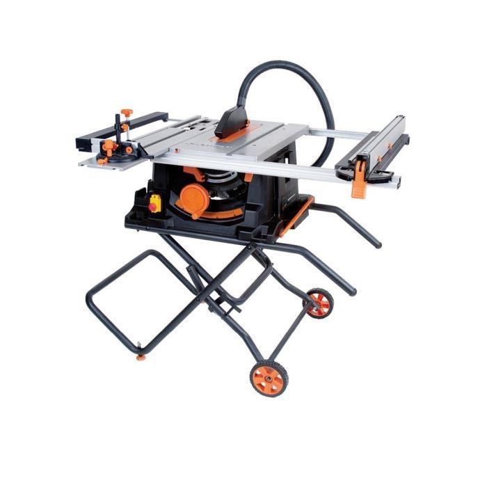 Scie sur table multi-matériaux Evolution RAGE5S - 1800W  - 255mm