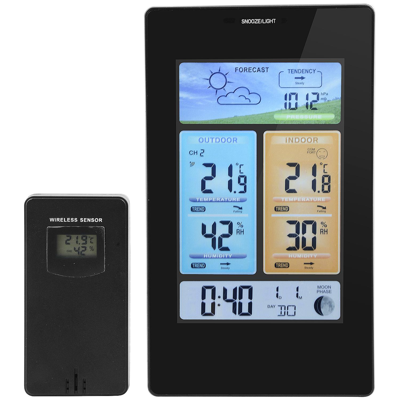 Station météo sans fil - Avec capteur extérieur